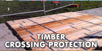timber crossing protection