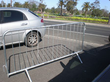 Builders Power Pole Hire Crowd Control Barrier Hire Melbourne